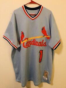 Ozzie-Smith-St-Louis-Cardinals-Jersey-Size-XL