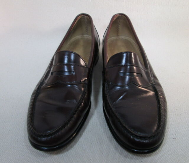 G.H.Bass Men's  Penny Loafer Size 11 D Leather - Brown