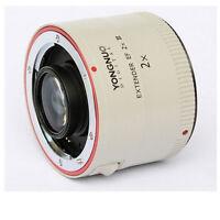 Yongnuo Ef 2x Iii Teleconverter Extender Auto Focus For Canon 70-200mm 2.8 Is Ii