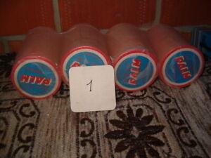 4 stangen bierviltjes  PALM retro (1)