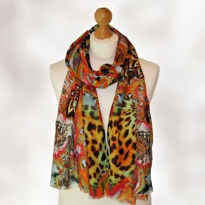 BNWT Adorable EMOJI METALLIC foil Shawl wrap scarf hijab head scarf in black