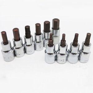 1-PCS-60mm-1-2Dr-Hex-Allen-Key-BIT-SOCKET-Tool-H3-4-5-6-7-8-9-10-12mm-amp-14mm