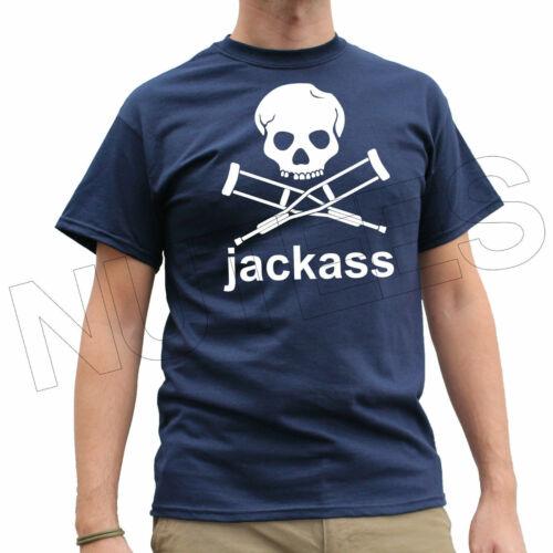 Jackass Funny Men/'s Ladies Kid T-Shirt Vest S-XXL