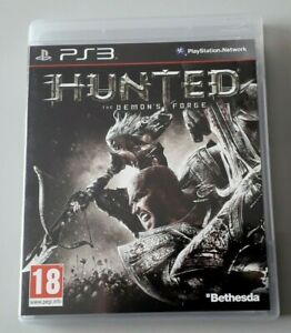 Jeu-PS-3-034-Hunted-The-Demon-039-s-Forge-034-complet-en-boite-N-2759