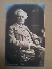 antique post card GRIEG  , Breitkopf & Haertel