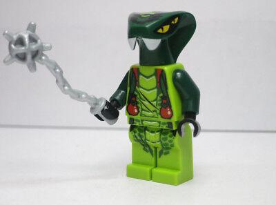 LEGO-MINIFIGURES SERIES X 1 GREEN SNAKE FOR NINJAGO MINIFIGURES PARTS