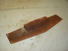 1979 International Ih 1486 Tractor Front Hood Grille Top Shield Panel