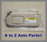 2006-2008 Hyundai Sonata Driver Side Grey Sun Visor W/sunroof,oem Hyundai