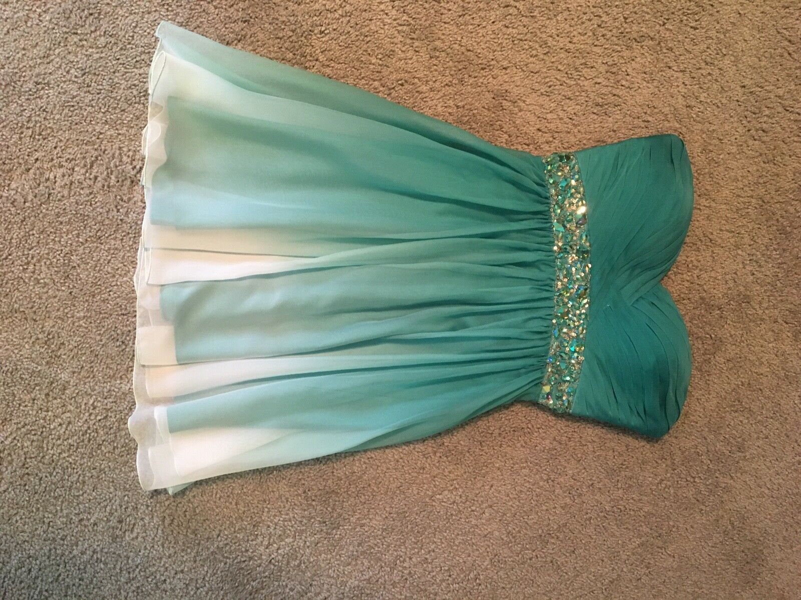 bluee ombre La Femme homecoming dress, size 2, perfect perfect perfect condition 24c02e