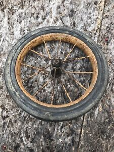 Vintage Tricycle Rear Tire
