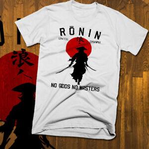 Samurai T-SHIRT JAPONAIS Ronin Unisexe Hommes