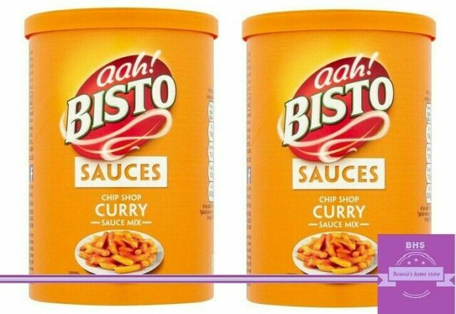 Two Bisto Chip Shop Curry Sauce Tubs 190g Eachtotal 380g The Nations Favourite