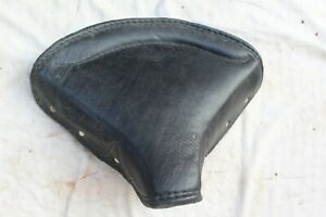 BRITISH MOTORCYCLE FRONT SEAT BEST QUALITY BSA NORTON TRIUMPH FREE SHIPPIN