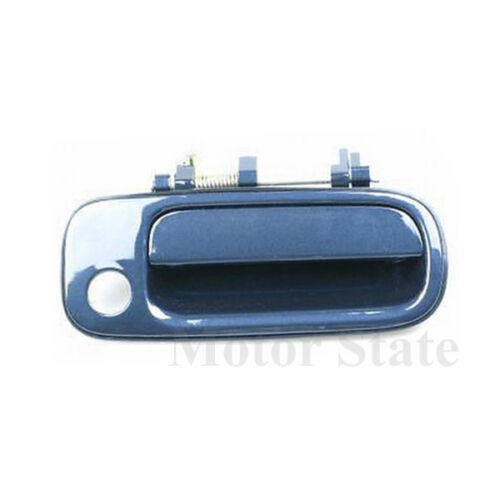 For 92-96 Toyota Camry Outside Door Handle Dark Navy Blue 8J6 Front Right