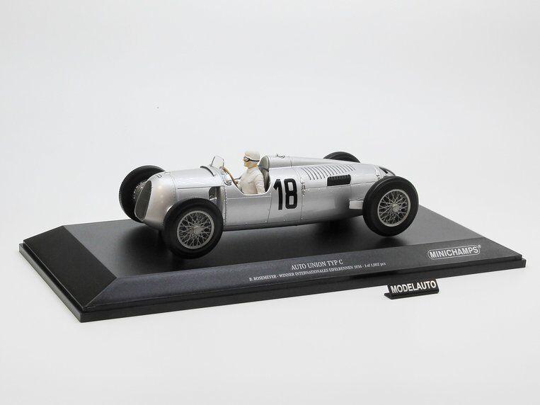 Minichamps 1 18 AUTO UNION TYP C Winner internationales Eifelrennen 1936