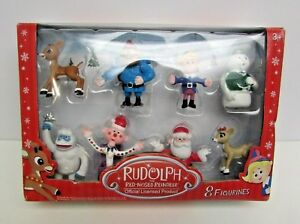 Rudolph the Red-Nosed Reindeer Main Characters Set of 8
