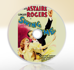 Details about Swing Time (1936) DVD Classic Musical Movie / Film Fred  Astaire Ginger Rogers