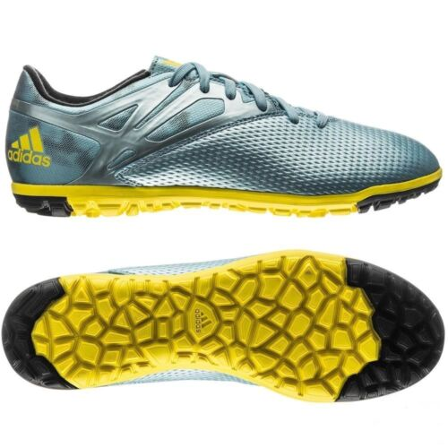 Adidas Messi 15.3 fileté fourche Turf Football Chaussures Futsal Ice//jaune vif//Core Noir