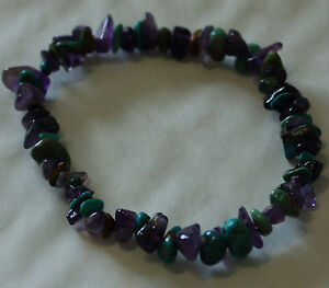 TURQUOISE-AND-AMETHYST-CHIP-BEAD-HEALING-CRYSTAL-BRACELET