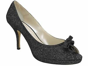 Caparros-Women-039-s-Watsons-Evening-Pumps-Black-Multi-Metallic-Size-8-M