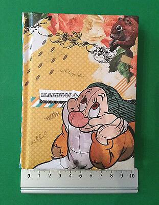 DIARIO Agenda SETTE NANI Disney MAMMOLO Scuola Originale NUOVO Cartoleria