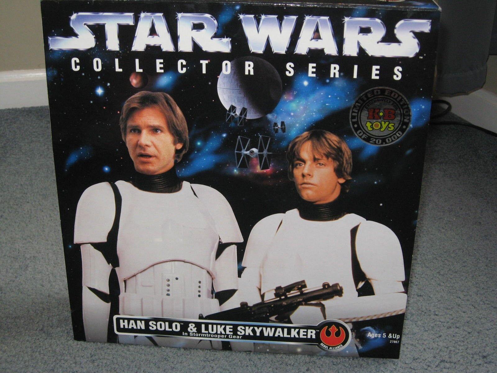 KB giocattoli  estrella guerras Han & Luke Stormtrooper Gear 12  bambolas  fantastica qualità