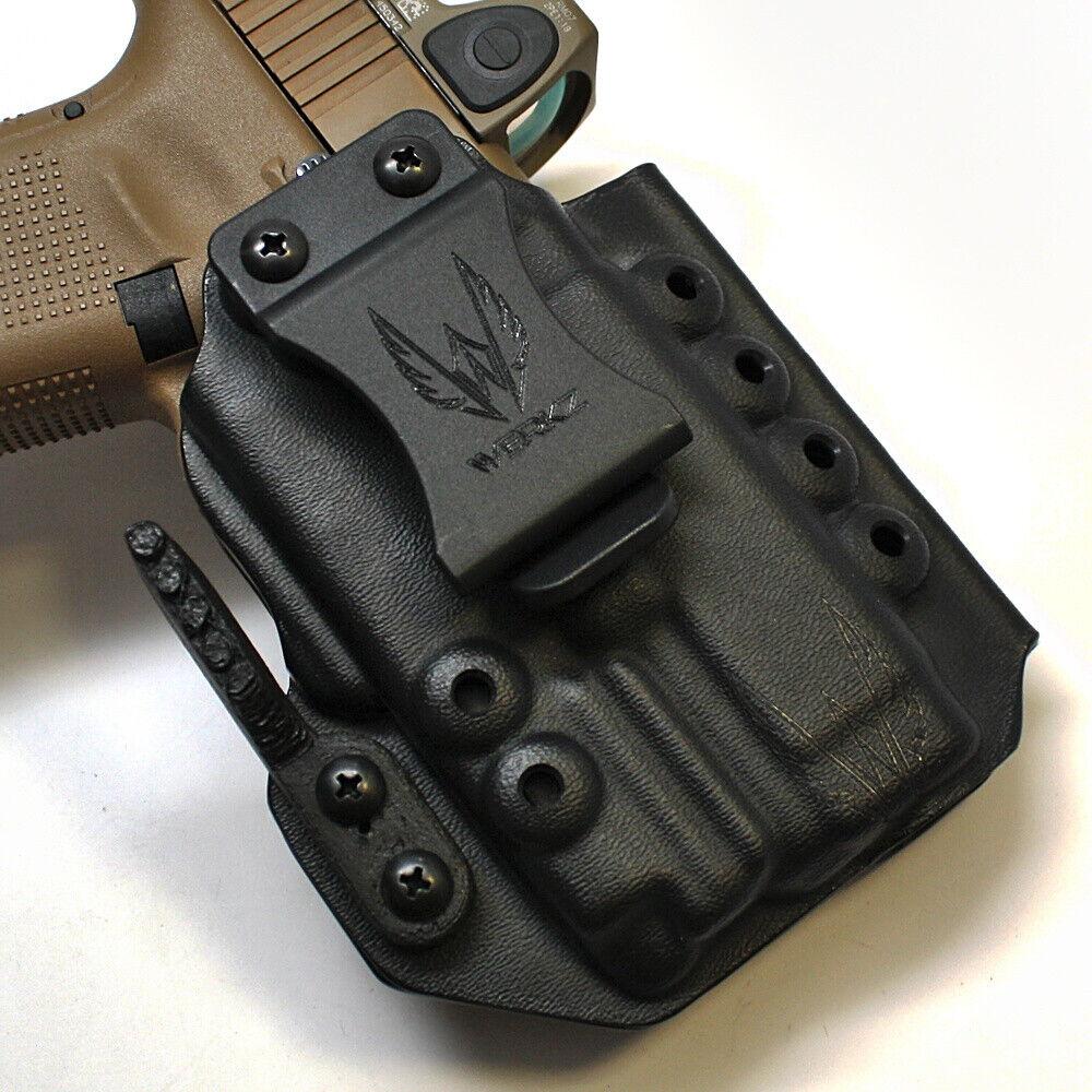 Werkz M6 Funda Glock Glock Glock 19 19x 23 32 45 Gen 3 4 5, Olight Pl-Mini, Ambi d45d19
