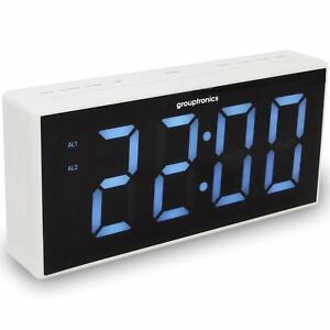 Alarm Clock Radio Extra Large Display
