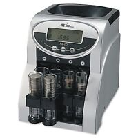 Fast Coin Sorter Change Machine Money Counter Count Wrapper Electric Digital