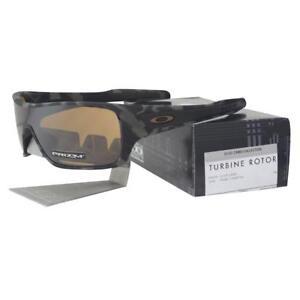 b6dbfdf860e Oakley OO 9307-1732 TURBINE ROTOR Olive Camo Prizm Tungsten Mens ...