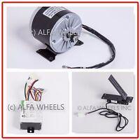 350 W 36 V Gokart Electric Motor 1016 Kit Speed Controller & Foot Pedal Throttle