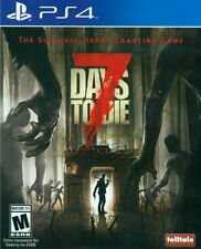 New Sony PlayStation 4 PS4 Games 7 Days to Die US Version English Subtitle
