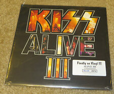 KISS ALIVE 3 BLUE COLORED VINYL #3,574 FACTORY SEALED