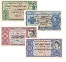 Switzerland 50,100,500,1000 Francs 4° Serie 1938 (Riproduzione/Copy)