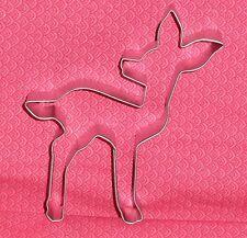 "Fawn,Deer,Metal Cookie Cutter, 4.5"".Woods, Bambi,C/K,Disney,Sturdy Metal"
