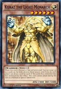 Kuraz The Light Monarch 1st X Mint Yugioh English Ys14 Ebay