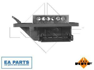 Resistor, interior blower for MERCEDES-BENZ NRF 342020