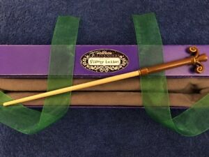 "Gilderoy Lockhart Wand 13"", Harry Potter REAL WOOD, Ollivander's Wizarding, RARE"