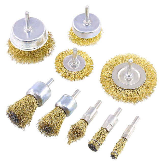 6 pcs All Drill Wire Wheel /& Cup Brush kit