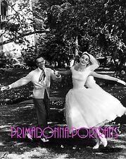 """AUDREY HEPBURN & FRED ASTAIRE 8X10 Lab Photo 1957 """"FUNNY FACE"""" Dancing Bride"""