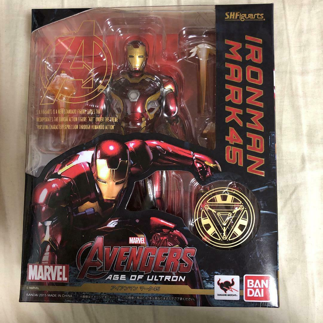 Used BANDAI S.H.Figuarts S.H.Figuarts S.H.Figuarts Marvel Japan ironman mark45 ver Age of Ultron Action 00a273