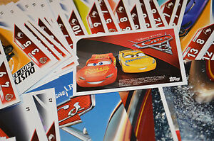 Topps-2017-Disney-Pixar-CARS-3-Trading-Card-Game-select-your-Base-cards