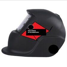 Solar Auto Darkening Adjustable Welding Welder Mask Helmet With Len