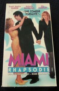VHS-Movie-Miami-Rhapsodie-Version-Francaise-Antonio-Banderas