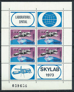 Roumanie-Bloc-N-116-MNH-1974-034-Skylab-034