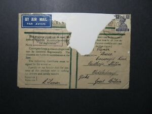 IIndia-1942-Forces-Cover-APO-106-ANASOL-Repaired-Top-Z12398