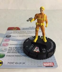 HeroClix Nick Fury Agent Of Shield #005b  CLAY QUARTERMAIN   MARVEL