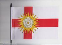 West Riding Of Yorkshire County Medium Hand Waving Flag