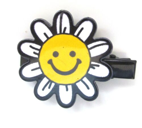 Rainbow Sunflower Hearts Lip Kids Girls Novelty Hair Clips Grips Hair Accessory