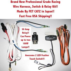 s l300 wire harness switch & relay kit 4 catz hella piaa bosch kc fog kc light wiring harness at webbmarketing.co